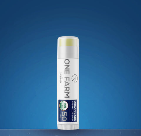 One Farm USDA Organic CBD Herbal Lip Balm - 50mg