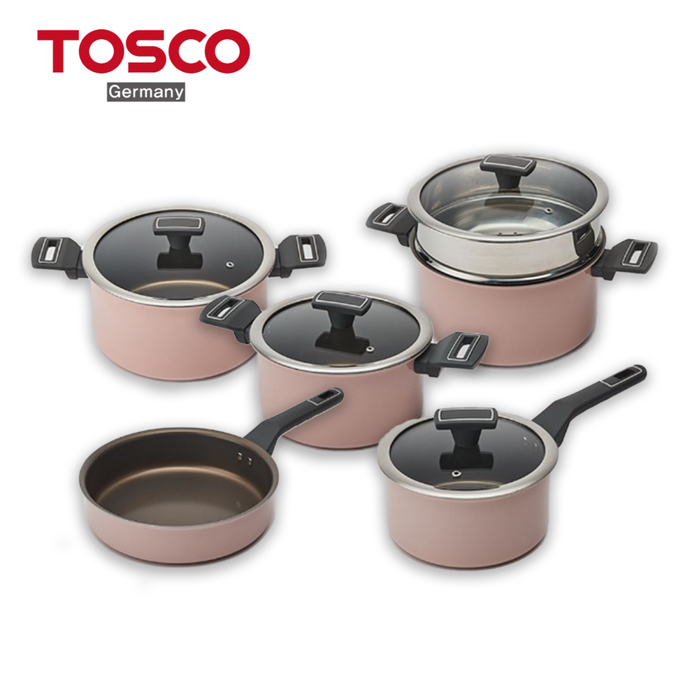 Tosco IH Induction Cookware (Frying Pan, Pot, Steamed Pot)