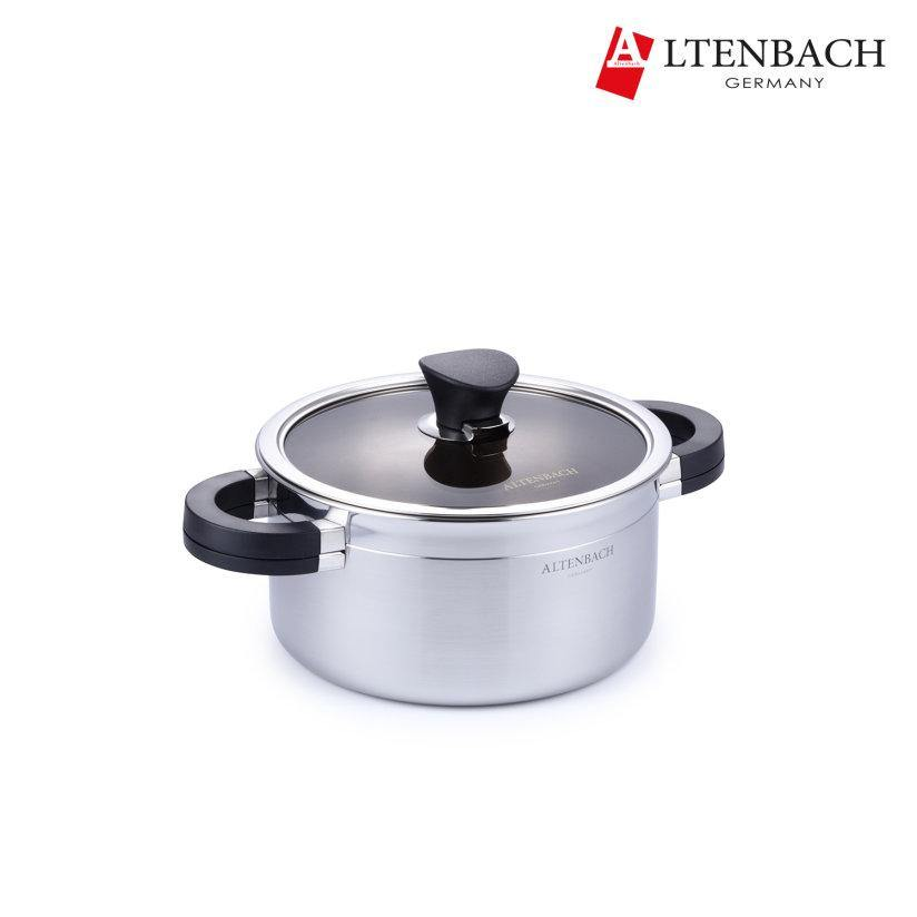 Altenbach 5-PLY Stainless Two Handles Pot (20cm)