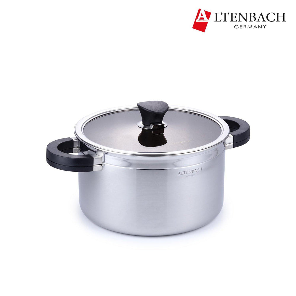 Altenbach 5-PLY Stainless Two Handles Pot (24cm)