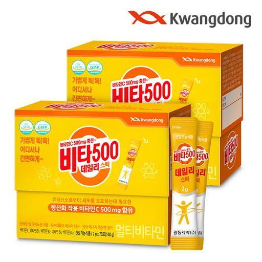KwangDong Vita500 Daily Stick (70pc)