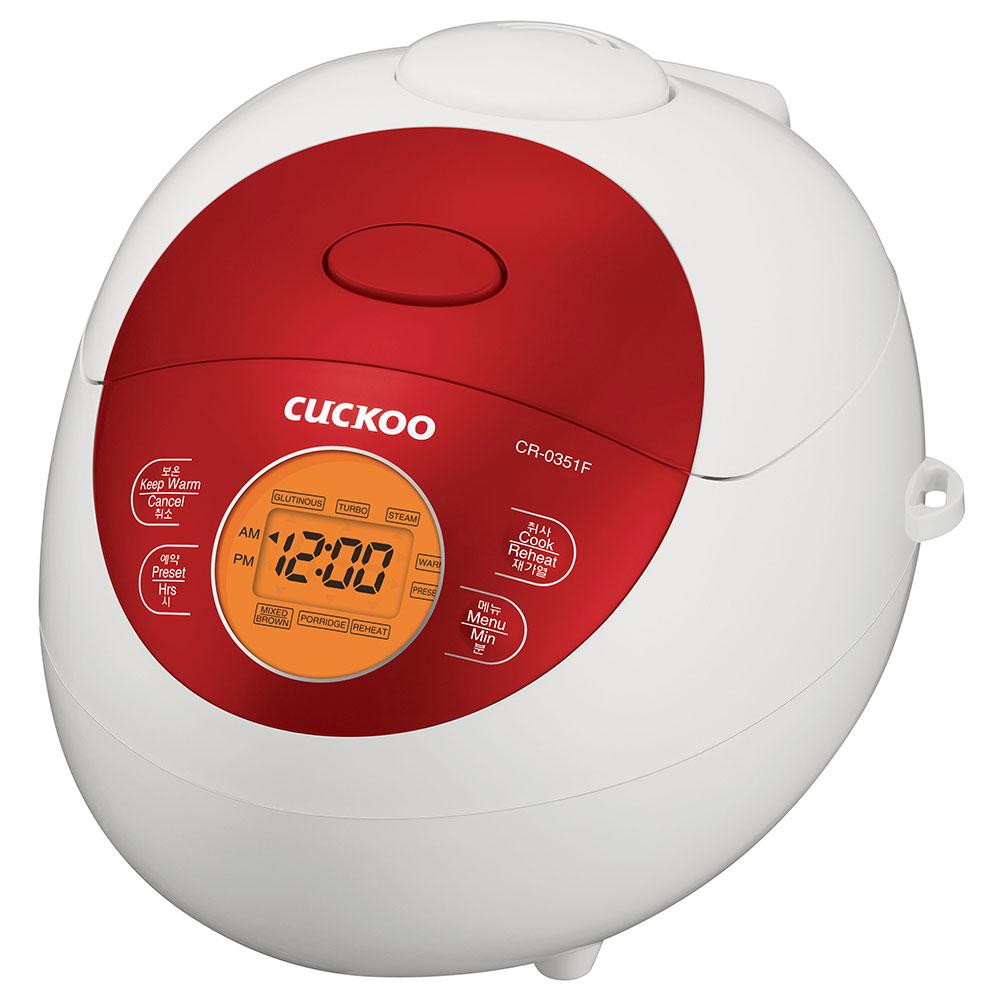 Cuckoo Electric Warmer Rice Cooker (for 3) CR-0351F