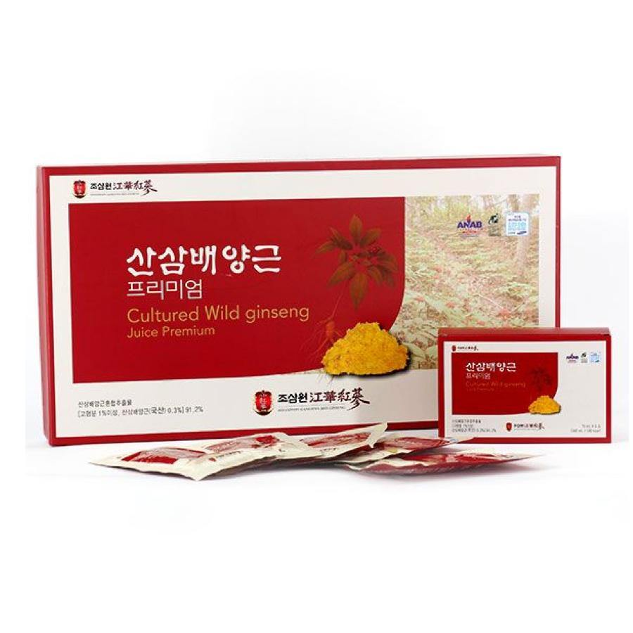 JoSamWon Premium Wild Ginseng Cultured Root Extract