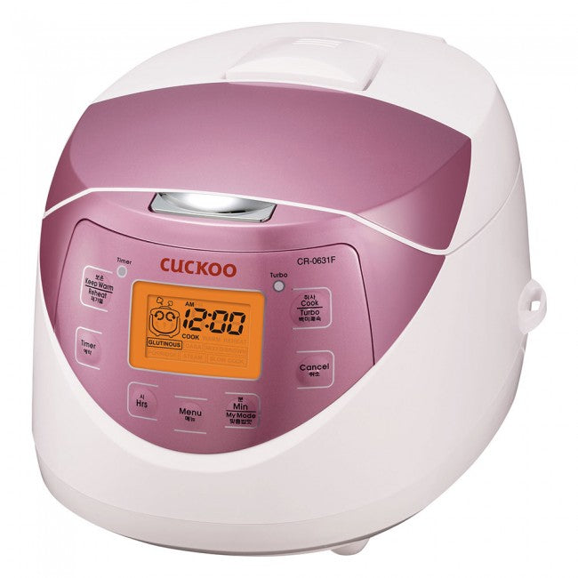 Cuckoo Electric Warmer Rice Cooker (for 6) CR-0631F