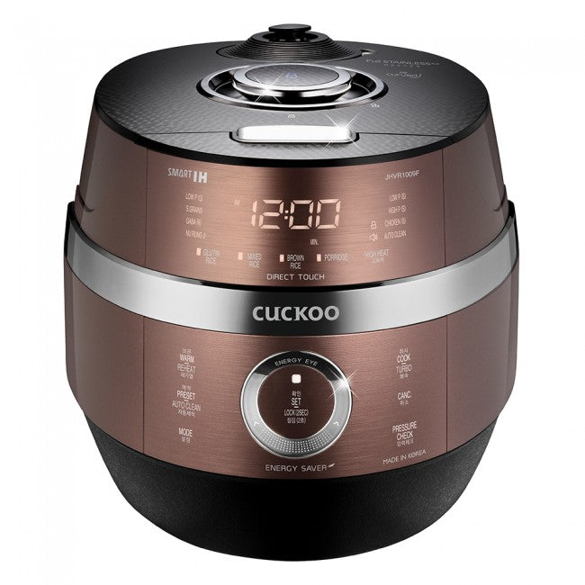 Cuckoo IH Electric Pressure Rice Cooker (for 6) CRP-JHVR1009F