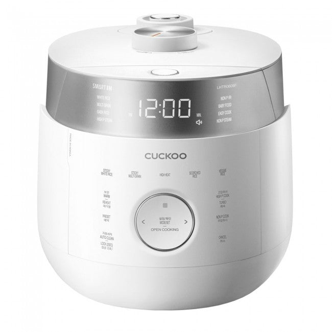 Cuckoo Twin Pressure Rice Cooker (for 6) CRP-LHTR0609F