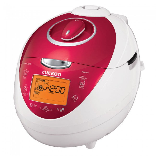 Cuckoo Electric Pressure Rice Cooker (for 6) CRP-N0681F