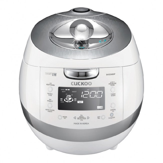 Cuckoo IH Pressure Rice Cooker (for 6) CRP-BHSS0609F