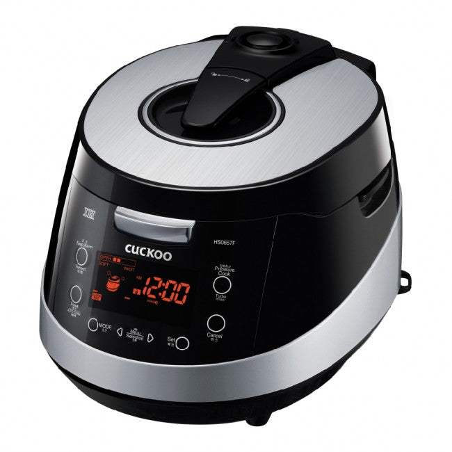 Cuckoo IH Electric Pressure Rice Cooker (for 6) CRP-HS0657F