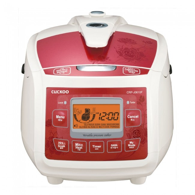 Cuckoo Electric Pressure Rice Cooker (for 6) CRP-J0610F