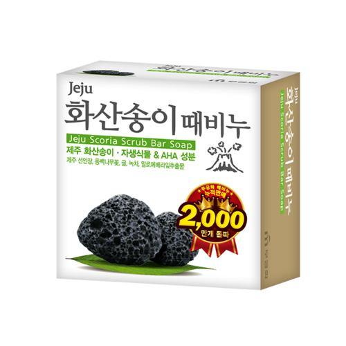 Jeju Scoria Scrub bar Soap