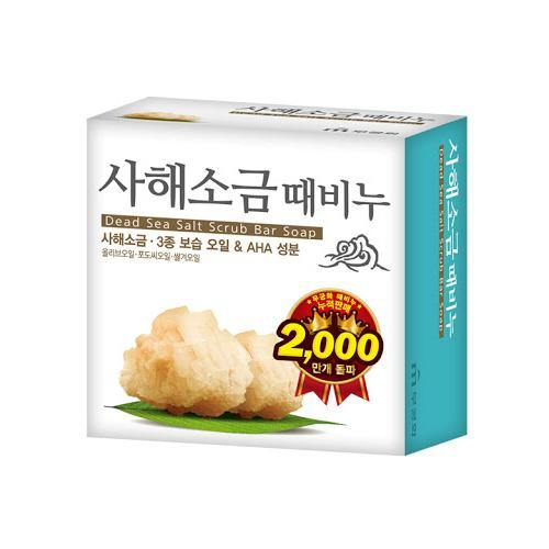Mugunghwa Dead Sea Salt Scrub Bar Soap