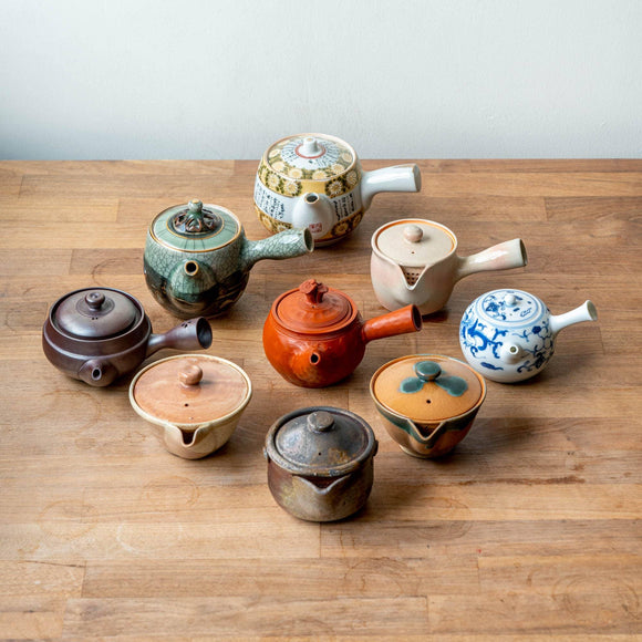The many styles of Japanese teaware and their production areas