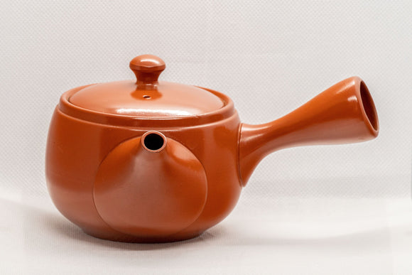 Japanese Kyusu - 春秋 Tokoname-yaki Side-handle Teapot - 350ml