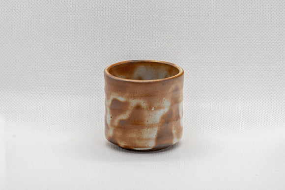 Japanese Teacup - Shine Glazed Tsutsu-gata Guinomi - 55ml
