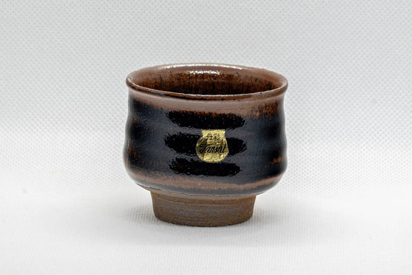 Japanese Teacup - 丹彩 Tenmoku Glazed Guinomi - 65ml