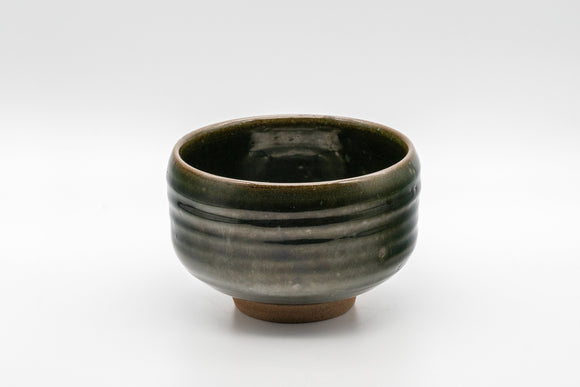 Japanese Matcha Bowl - しさい Hantsutsu-gata Chawan - 350ml
