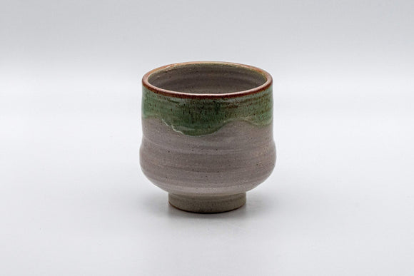 Japanese Teacup - Drip Glazed Tsutsu-gata Yunomi - 175ml