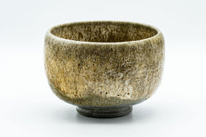 Japanese Matcha Bowl - Textured Glaze Olive-Brown Chawan - 500ml - Tezumi