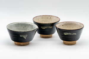 Japanese Tea Set - Katakuchi Water Cooler with 2 Yunomi Tea cups - 110ml