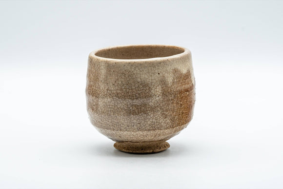 Japanese Teacup - Beige Drip-Glazed Yunomi - 180ml