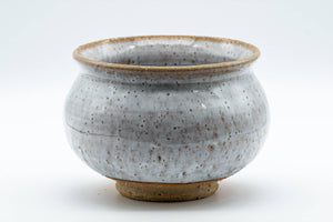 Japanese Kensui - Milky White Glazed Water Bowl - 400ml - Tezumi