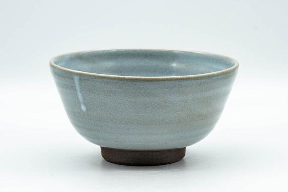 Japanese Matcha Bowl - Blue Celadon Glazed Ido-gata Chawan - 350ml
