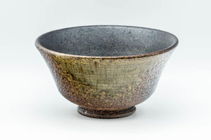 Japanese Matcha Bowl - 信楽焼 Burnt Glazed Shigaraki-yaki Chawan - 300ml - Tezumi