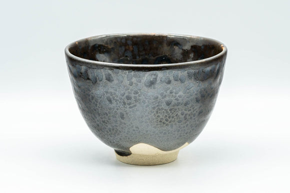 Japanese Matcha Bowl - Metallic Glazed Sugi-nari Chawan - 400ml