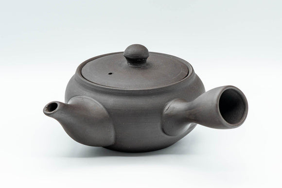Japanese Kyusu - Dark Grey Side-Handle Teapot - 300ml - Tezumi
