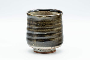 Japanese Teacup - Brown Spiraling Yunomi - 190ml - Tezumi