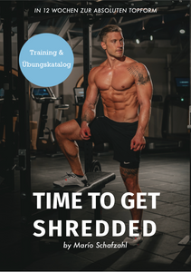 TIME TO GET SHREDDED - TRAINING