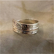 Load image into Gallery viewer, Sterling Silver Eagle Wrap Ring