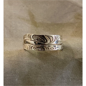 Sterling Silver Eagle Wrap Ring