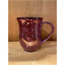 Load image into Gallery viewer, Deep Purple Mug With  Handle Detail