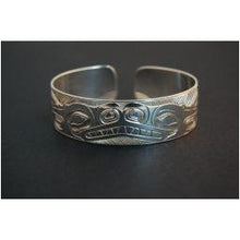 "Load image into Gallery viewer, 1/2"" Killer Whale Bracelet"