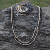 3 Row Shell Necklace - NIIRVA