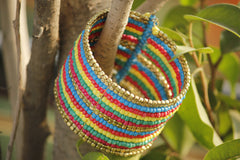 Colorful Striped Cuff - NIIRVA - 1