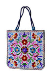 Embroidered Tote Bag - NIIRVA - 2