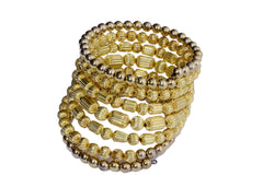 Beaded Stretchable Bangle - NIIRVA - 1