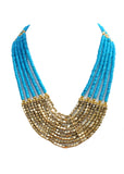 Layered Beaded Necklace - NIIRVA - 4