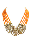 Layered Beaded Necklace - NIIRVA - 1