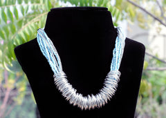 Beaded Ring Necklace - NIIRVA