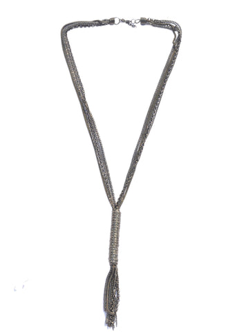 Coil Knot Necklace - NIIRVA - 1