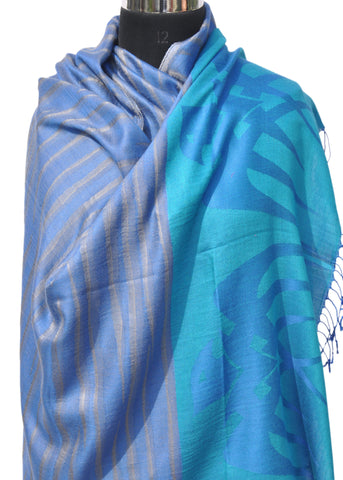 Abstract Print Shawl - NIIRVA - 1