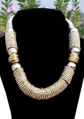 Bold Metal Necklace - NIIRVA - 1