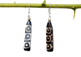 Faux Wood Tribal Earring - NIIRVA