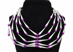 Art Deco Necklace - NIIRVA - 1