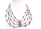 Art Deco Necklace - NIIRVA - 7