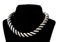 Twisted Stripe Necklace - NIIRVA